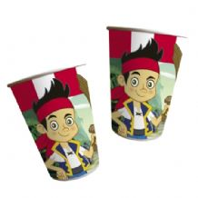 'Jake & the Neverlands Pirates' Paper Cups PK8